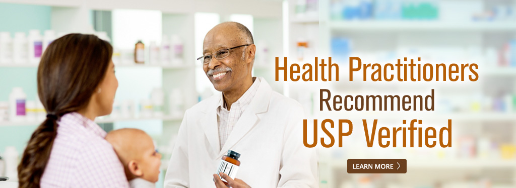 Health Practitioners Recommend USP Verified